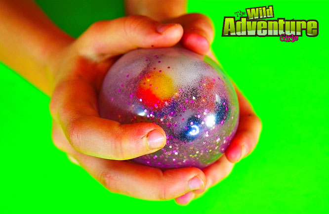 learning videos for kids, squishy stress ball, diy crafts