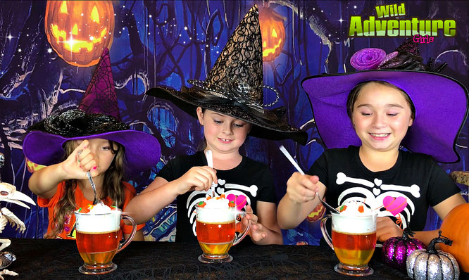Halloween, diy, Jell-O Treats, crafts, treat recipe, the wild adventure girls
