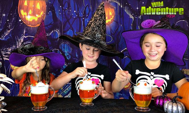 Halloween, diy, Jell-O Treats, crafts, treat recipe, the wild adventure girls