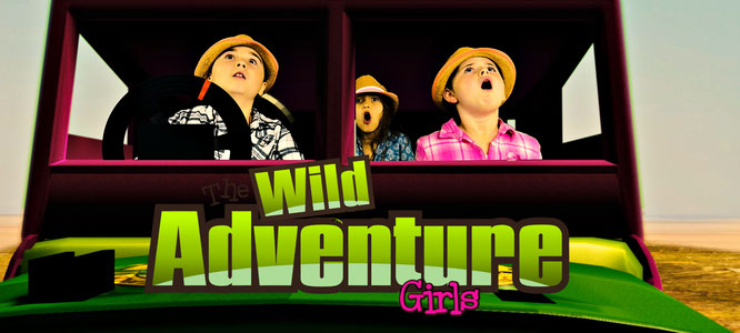 the wild adventure girls, facts about lions, youtube show