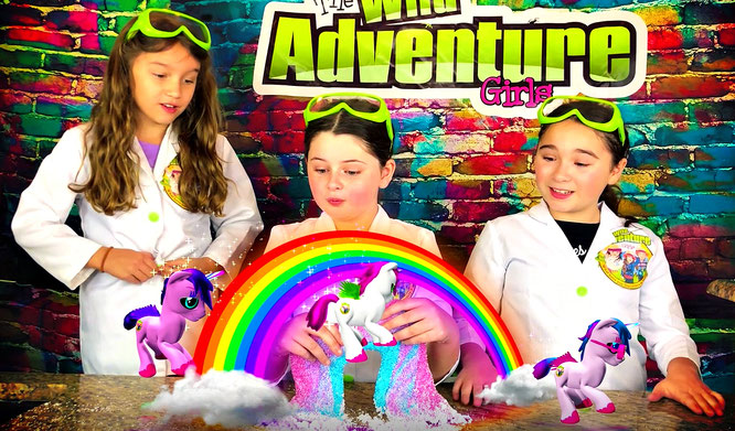 Slime, diy, unicorn slime, crafts, slime recipe, the wild adventure girls