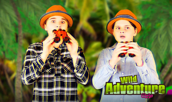 wild adventure girls, kids youtube, learning videos for kids, science for kids, science, volcano experiment