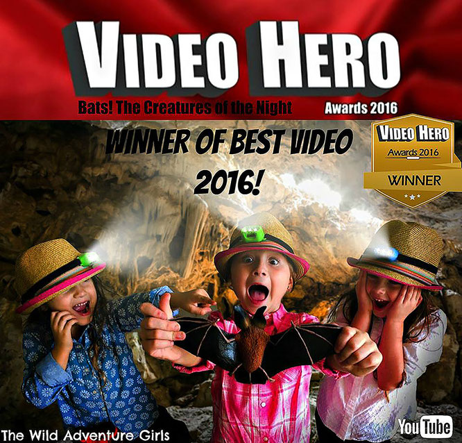 the wild adventure girls, youtube, best video winner