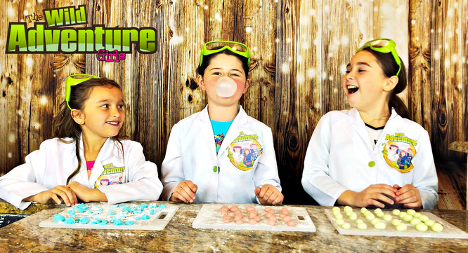 Gum, diy, bubble gum, crafts, bubble gum recipe, the wild adventure girls