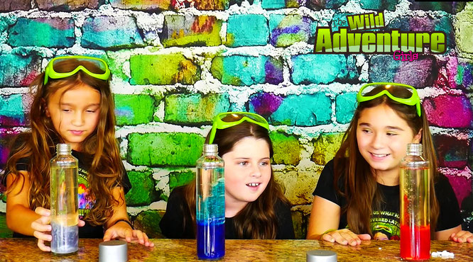 lava lamp, crafts for kids, the wild adventure girls