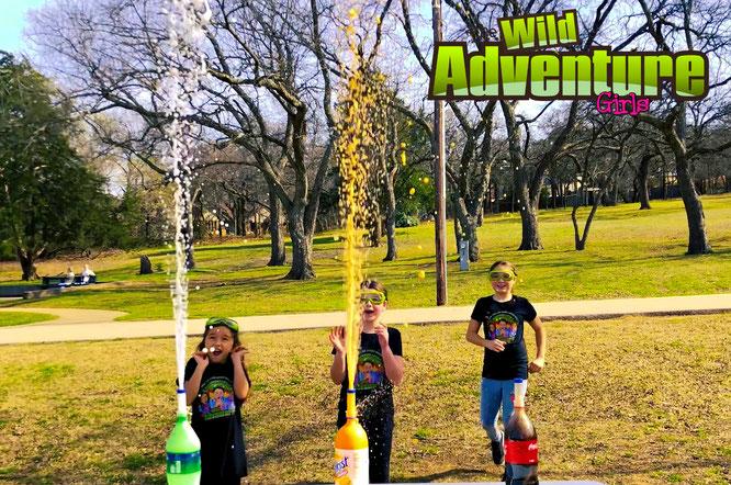 Kids bubble recipe, the wild adventure girls, wild adventure girls, kids youtube