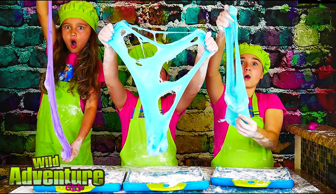 edible slime, Slime, diy, slime recipe, wild adventure girls, marshmallows