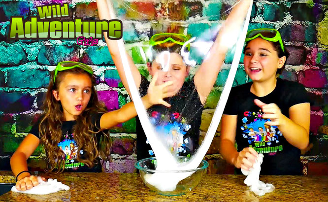 Slime, diy, gold slime, crafts, slime recipe, the wild adventure girls