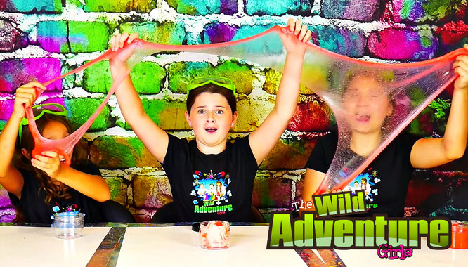 watermelon slime, the wild adventure girls, educational videos for kids, kid youtube