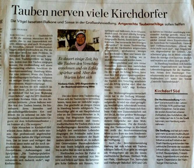 Hamburger Abendblatt 29.01.2019
