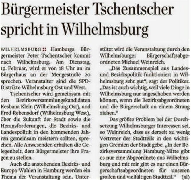 Hamburger Abendblatt vom 11.02.19