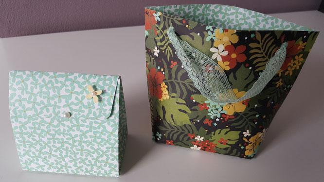 Stampin' Up! Taschen Sackerl Stanz-und Falzbrett für Geschenktüten Stempelkiste
