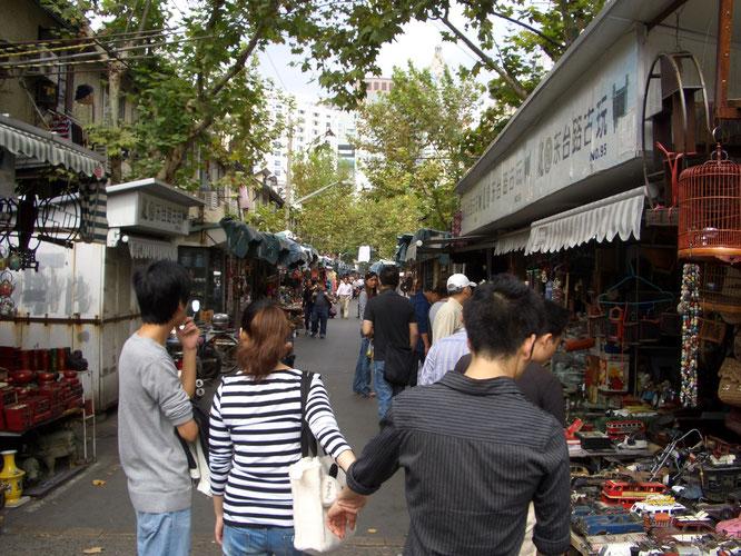 Antik-Markt nahe XinTianDi, Shanghai - China