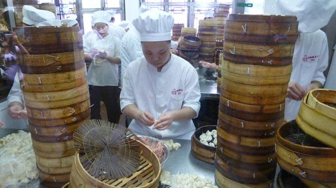 Dumpling Herstellung