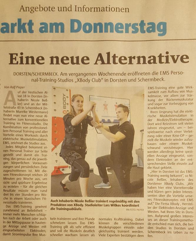 Quelle: Dorstener Zeitung - Do., 21. Sept. 2017