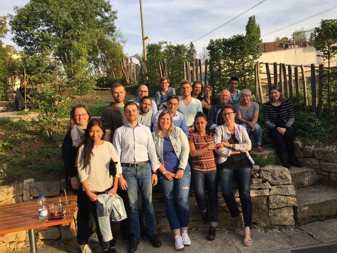 anlässlich einer Teamsitzung mit dem Team ASK Basel und Liestal