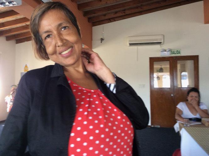 La Berkins en el 1er Taller Regional de Autocuidado Feminista, Lima, Perú 2015