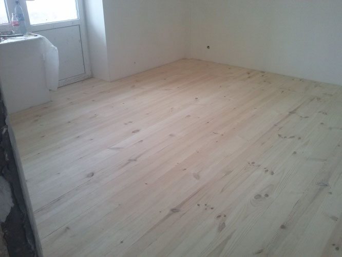 Готова підлога.