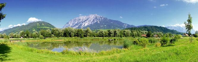 Ortsteil Tunzendorf mit Spreizerteich
