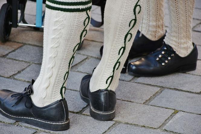 Strumpf Herren Tracht Trachtenschuhe Bayern