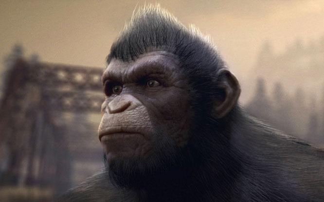 """Könnte dank der Animations-Erfahrung von Serkis' Firma besser aussehen als die hölzern animierten Telltale-Adventures: """"Planet of the Apes: Frontier"""" von Imaginarium Studios."""