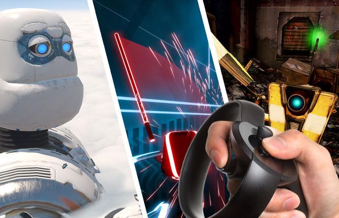 Abtauchen In Virtuelle Spharen Die Besten Vr Games In 2018
