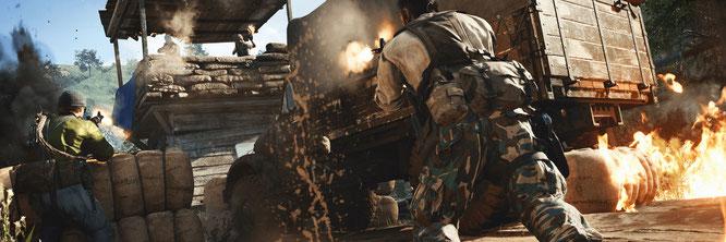 """Die jüngste """"Call of Duty""""-Episode """"Cold War"""" spielt zur Zeit des Kalten Krieges. Die Serie tut sich zunehmend schwer, geeignete Kulissen und Epochen für ihre Schießbuden zu finden"""