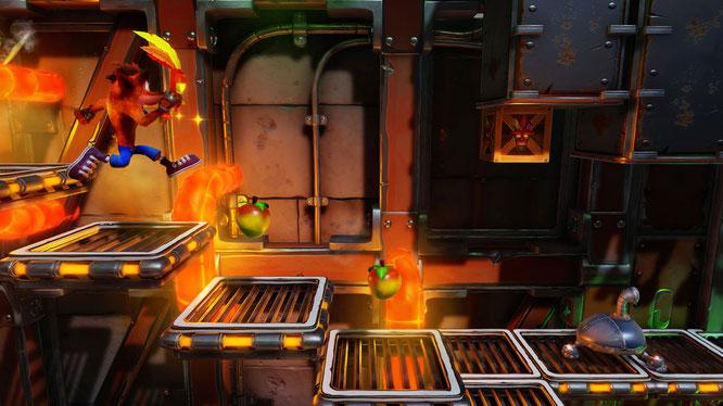 Wirbelt einmal mehr zum Erfolg: Das PS4-Remake von Crash Bandicoots klassischen PSOne-Abenteuern.