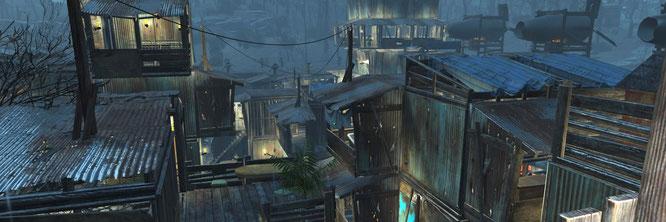 """""""Fallout 4"""" verzichtet auf eine cineastisch präsentierte Haupt-Story, bietet dafür aber Freiheiten wie einen Städte-Baumodus."""