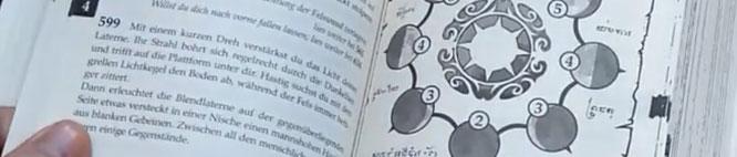 """Das bisher komplexeste Spielbuch: """"Reiter der Schwarzen Sonne"""" von Swen Harder erscheint bei Mantikore."""