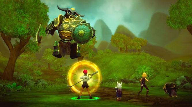 """Gehört zu den Xbox-One-Gratisspielen, auf die sich Gold-Abonnenten im September freuen dürfen: Das vielversprechende Independent-Rollenspiel """"Earthlock: Festival of Magic""""."""