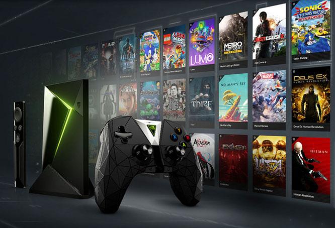 """Gehört zu den aktuell gängigsten Streaming-Lösungen: Nvidias """"GeForce Now""""-Dienst für die """"Shield""""-Plattform. Dabei wird mit bis zu 60 Bildern pro Sekunde und in HD-Auflösung gestreamt."""
