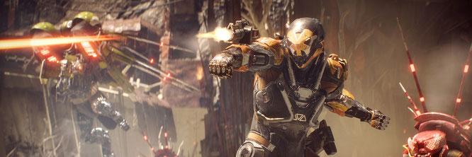 """War u.U. der Reputations-seitige Sargnagel für die 2007 von Electronic Arts geschluckte Rollenspiel-Schmiede Bioware: Der nur behutsam mit RPG-Elementen angereicherte Loot-Shooter """"Anthem""""."""