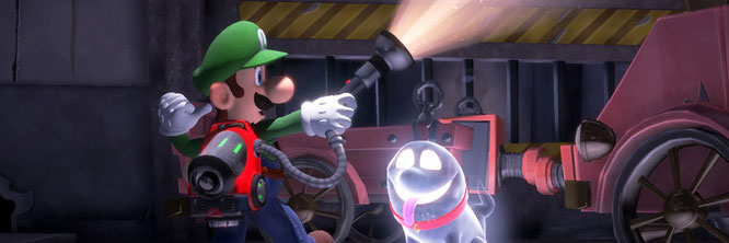 """Seltener und deshalb immer wieder gern gesehener Gast: Seit 2001 hat es die """"Luigi's Mansion""""-Reihe erst auf drei Einträge gebracht"""