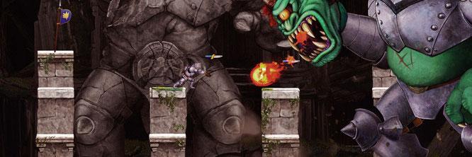 """Das Richtige für Oldie-Fans: Capcoms knallhartes """"Ghosts'n Goblins Resurrection"""""""