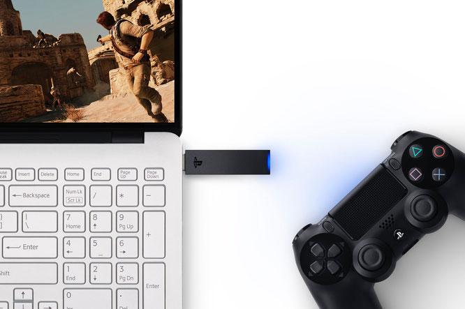 """PS3-Spiele auf dem PC - Sonys """"PlayStation Now"""" macht's möglich. Dank USB-Adapter sogar mit Original-Controller."""
