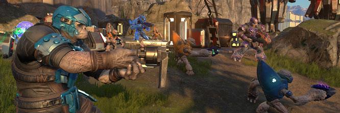 """Sollte ursprünglich noch Ende dieses Jahres für alte und neue Xbox-Generation kommen, wurde dann aber auf 2021 verschoben: """"Halo Infinite"""" könnte jetzt doch zum Series-X/S-Exlusivtitel werden."""