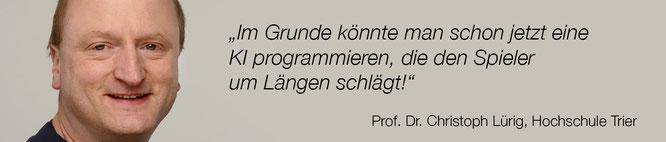 Auch für ihn ist KI keine Hexerei: Prof. Dr. Lürig von der Hochschule Trier