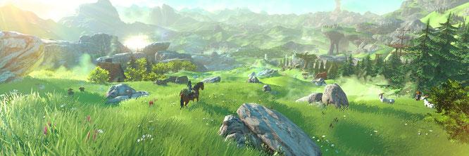 """Wenig Story, aber dafür maximale Bewegungs- und Gameplay-Freiheit: """"The Legend of Zelda: Breath of the Wild"""""""