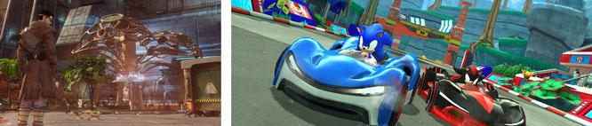 """Gehörten zu den bekannteren Titeln, die der iPhone-Konzern zusammen mit """"Apple Arcade"""" auf seiner jüngsten Keynote vorgestellt hat: Eine """"Fortsetzung"""" zu Revolutions """"Beneath a Steel Sky"""" und """"Sonic Racing""""."""