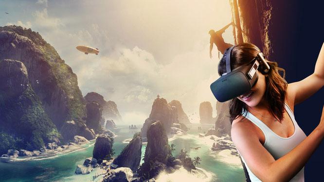 Durfte sich 2018 von allen Premium-Headsets für den PC über die meisten Verkäufe freuen: die Oculus Rift.