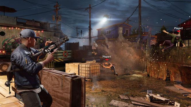 Problembehaftet und erst seit kurzer Zeit wieder online: Der Multiplayer-Modus erlaubt das nahtlose Eintauchen in die Spielerfahrung anderer. Wer lieber ungestört loslegt, muss s manuell deaktivieren.
