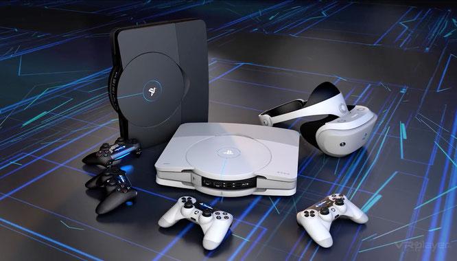 Weil Gamern bereits nächstes Jahr neue Konsolen-Hardware ins Haus steht, haben sie 2019 ungewöhnlich wenig in neue Daddel-Hardware investiert. Diese Design-Studie eines französischen Grafiker-Teams zeigt, wie die nächste PlayStation aussehen könnte.