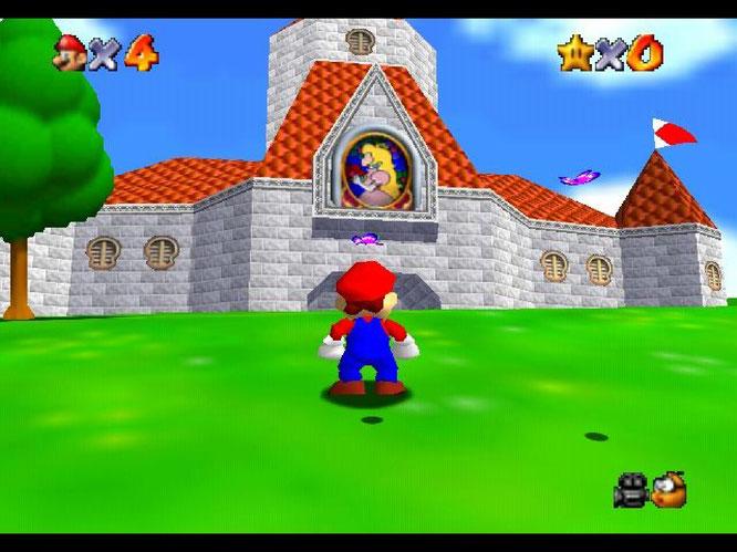 """N64-Modulklassiker, der heute Senioren dabei helfen könnte, gegen Demenz zu kämpfen: """"Super Mario 64""""."""