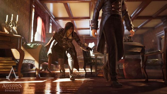 """Für Spiele-Helden wie aus """"AC Syndicate"""" werden zahllose Animationsphasen vorbereitet: Doch die Möglichkeit der Figuren, selbständig auf die Umgebung zu reagieren und ihre Bewegungen entsprechend anzupassen, hat Grenzen."""