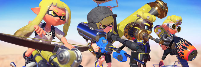 "Bekommt einen dritten Teil: Nintendos Multiplayer-Erfolg ""Splatoon"""