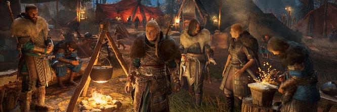 """Eindrucksvolle Kulisse, brüchige Story: """"Assassin's Creed: Valhalla"""" kämpft tapfer, aber nicht immer erfolgreich gegen Ermüdungs-Erscheinungen bei der Serien-DNA"""
