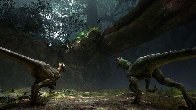 """Leider lassen sich Cryteks VR-Dinos noch etwas Zeit: """"Robinson: The Journey"""" wurde auf den 9. November verschoben."""
