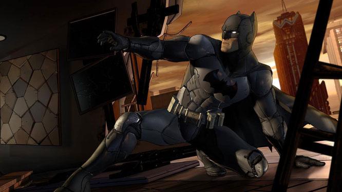 """In der zweiten Episode von """"Batman: The Telltale Series"""" will Gothams Fledermaus Licht ins Dunkel der Wayne-Familie bringen. Inzwischen machen sich ein paar neue Superschurken daran, die Unterwelt der Metropole aufzumischen."""