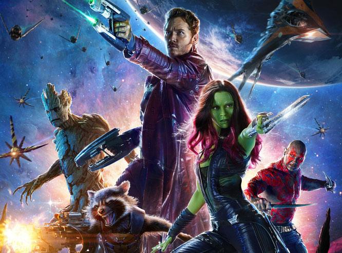 """Werden angeblich von Telltale in ein Adventure eingebunden: Die futuristischen Raufbolde aus """"Guardians of the Galaxy""""."""